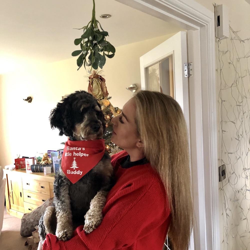 Christmas at home : Becky and Buddy
