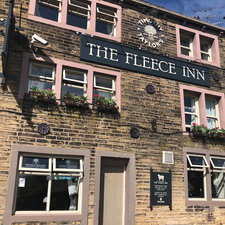 Fleece Inn Exterior - Square