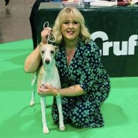 A Strategic Advisor for our dog owner community platform, Jordan, and her dog at Crufts dog show